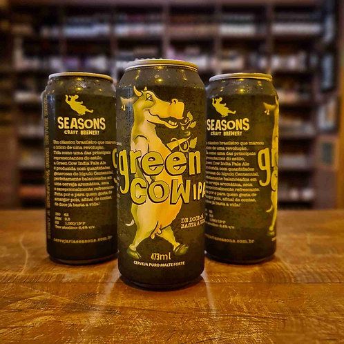 Cerveja Seasons Green Cow American IPA 473ml