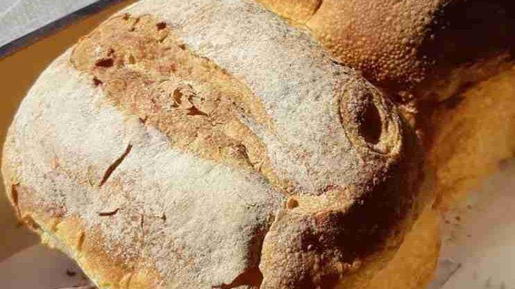 Pão Toscana de Fermentação Natural - 1 unidade (aproximadamente 300g)