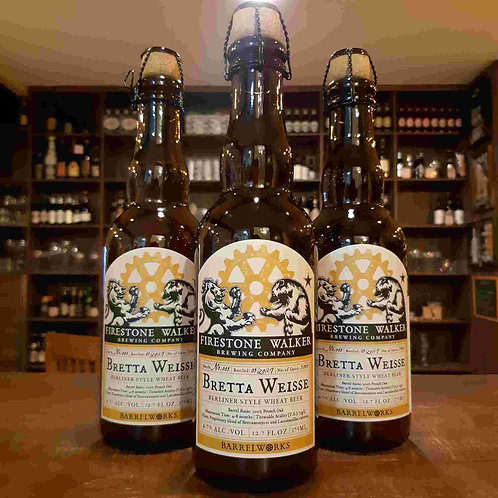 Cerveja Firestone Walker Barrel Works Bretta Weisse 375ml