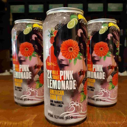 Cerveja Dádiva 2x Pink Lemonade American Sour com Framboesa, Amora e Limão 473ml