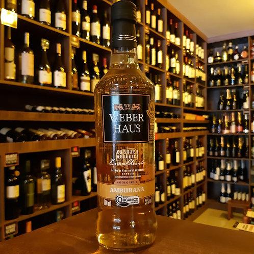 Cachaça Weber Haus Amburana 700 ml - Orgânica