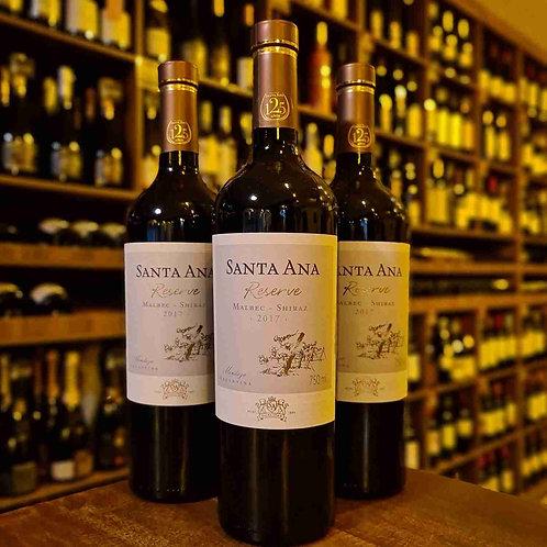 Vinho Argentino Santa Ana Reserve Malbec Shiraz 750ml