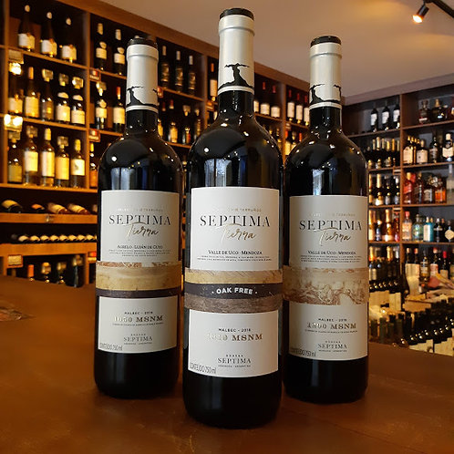 Vinho Tinto Argentino Septima Gualtallary 1310 750ml