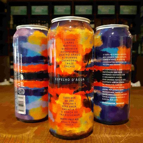 Cerveja Dádiva Colaborativa Hoppy Pale Ale Espelho D'água 473ml