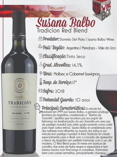 Tradicion Red Blend Susana Balbo
