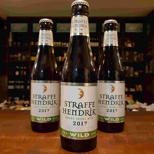 Cerveja Belga Straffe Hendrik Wild 2017 335ml - Safrada envelhece em barril