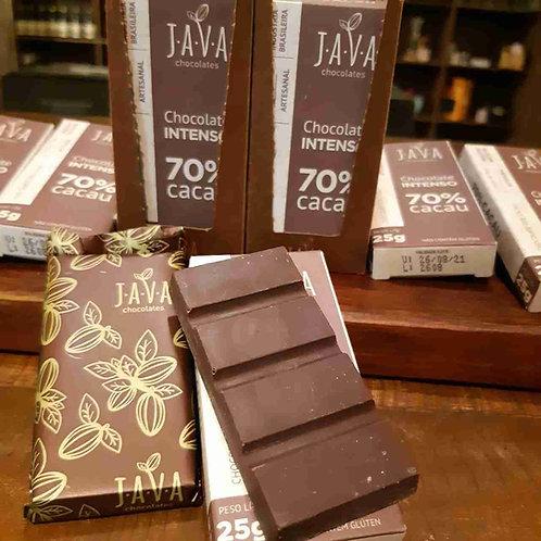 Chocolate Artesanal 54% cacau Java 70g