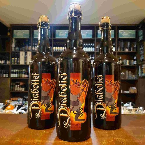 Cerveja Diabolici Belgian Tripel 750ml Garrafa Rolhada