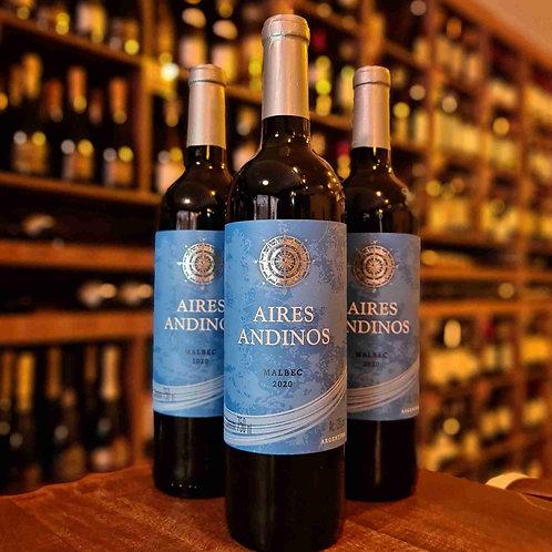 Vinho Tinto Aires Andinos Malbec 750ml