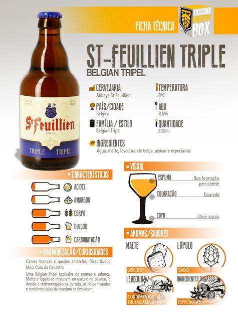 St Feuillian BelgianTriple