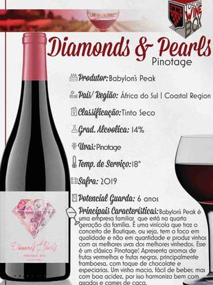 Diamonds & Pearls Pinotage