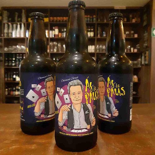 Cerveja Los Compadres Oatmeal Stout Ás de Paus 500ml