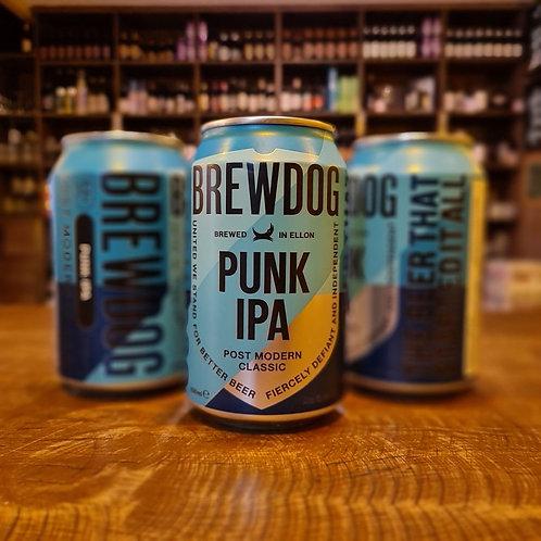Combo com 3 BrewDog Punk IPA lata 330ml (cada Punk sai por R$ 19.98 nesse combo)