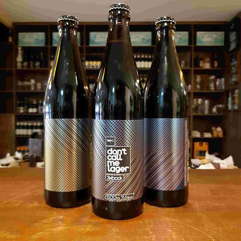 Cerveja Dádiva Triple Bock don't Call me Lager 500ml