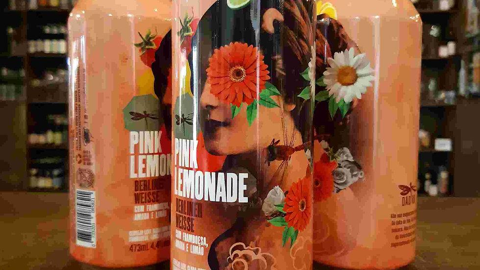 Cerveja Dádiva Pink Lemonade American Sour com Framboesa, Amora e Limão 473ml