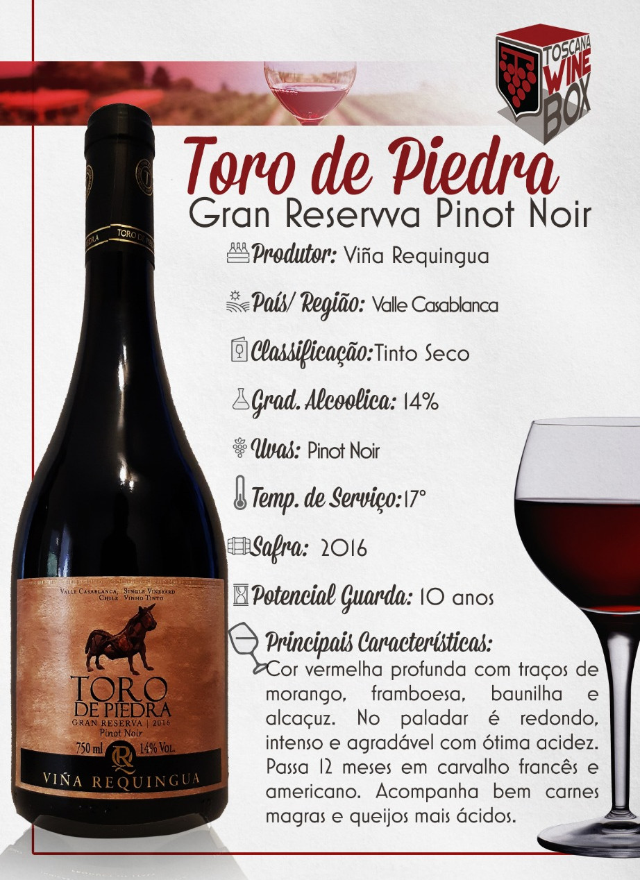 Toro de Piedra Pinot Noir