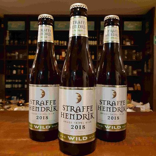 Cerveja Belga Straffe Hendrik Wild 2018 335ml - Safrada, envelhece em barril!