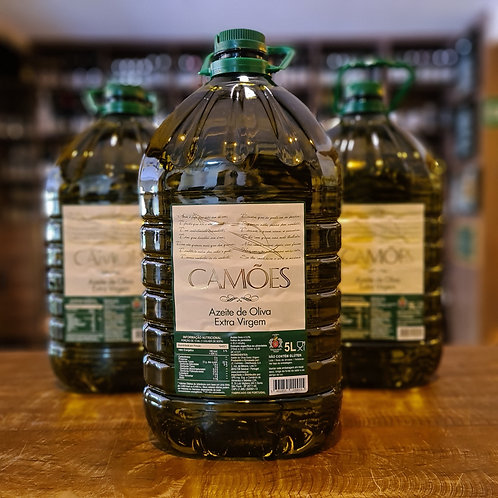 Azeite Português Camões Extra Virgem 0,5% de Acidez 5 litros