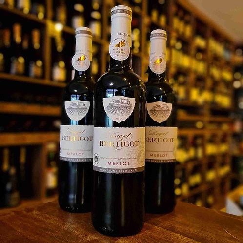 Vinho Tinto Francês Daguet de Berticot Merlot Bordeaux 750ml