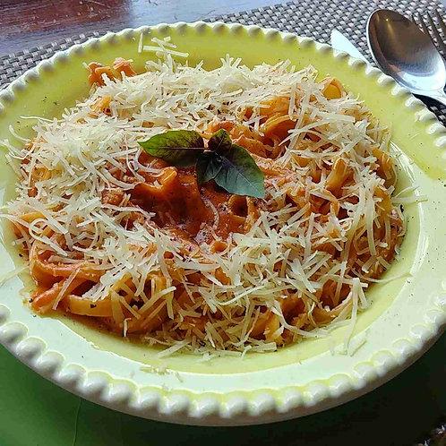 Massa seca Linguini ao Molho Pomodoro da Casa (imagem Ilustrativa)