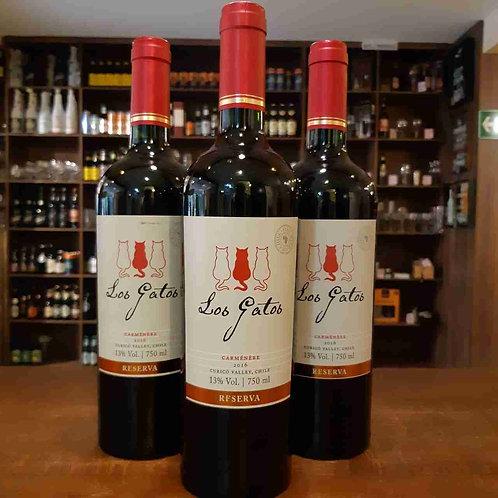 Vinho Tinto Chileno Los Gatos Reserva Carmenere 750ml