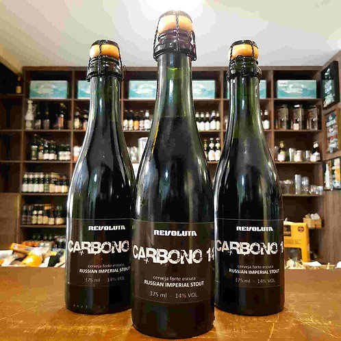 Cerveja Revoluta Imperial Stout Carbono 14 375ml