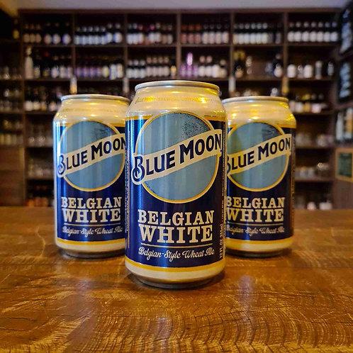 Cerveja Witbier Blue Moon Lata 355ml (frutas cítricas, refrescante, sem amargo)