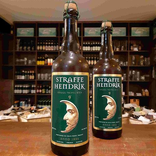 Cerveja Belga Straffe Hendrik  Tripel Garrafa Rolhada 750ml
