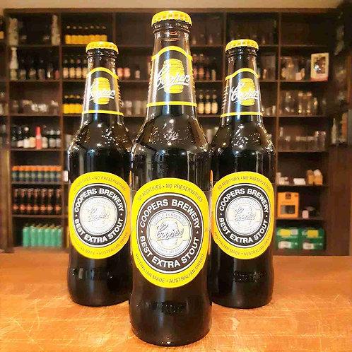 Cerveja Coopers Extra Stout - Um Stout Única, Complexa e Leve!  375ml