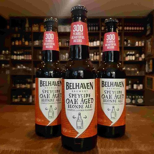 Cerveja Escocesa Belhaven Speyside Oak Aged Whisky 335ml