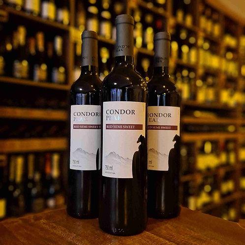 Vinho Tinto Argentino Demi Sec Condor Peak Red 750ml