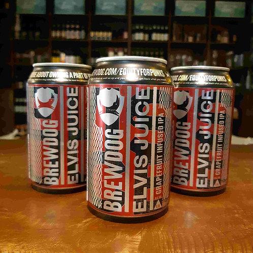 Cerveja BrewDog Elvis Juice American IPA com Raspas de Grapefruit 335ml