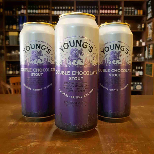 Cerveja Young Chocolate Stout 500ml (Inglaterra)