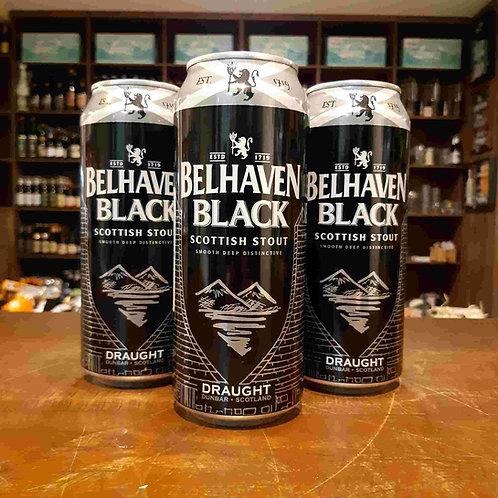 Cerveja Belhaven Black Dry Stout 440ml - Scottish Stout