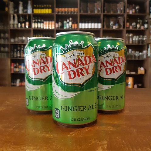 Ginger Ale Importado Canada Dry 355ml