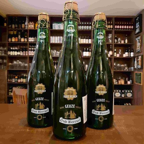 Cerveja Oud Beersel Geuze Oude Pijpen Envelhecida em Barril de Vinho do Porto