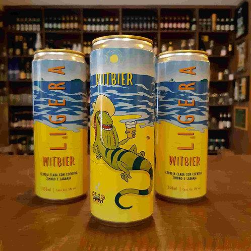 Cerveja Tupiniquim Ligera Witbier 350ml