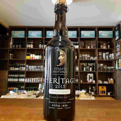Cerveja Belga Straffe Hendrik Heritage 2013 envelhecida em Barris de Vinho750ml