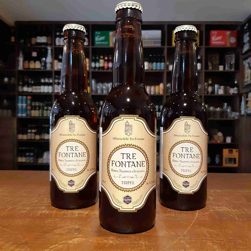 Cerveja Tre Fontane Trapista Tripel 330ml