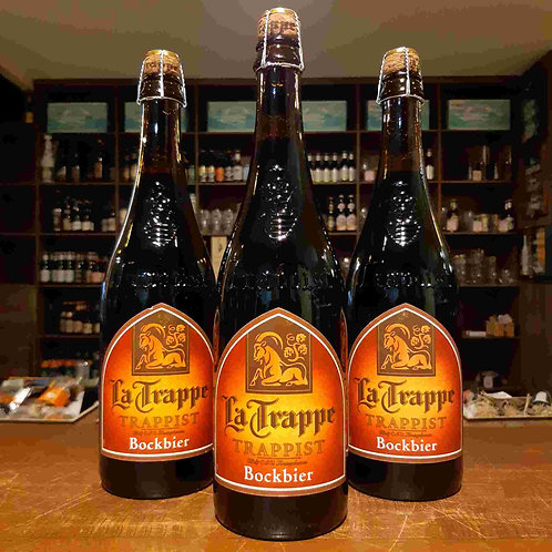 Cerveja La Trappe Bock 750ml - Bock com Fermento Ale!
