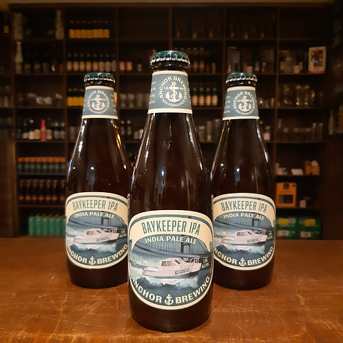 Clássica American IPA por Anchor Brewing - Bay Keeper 375ml