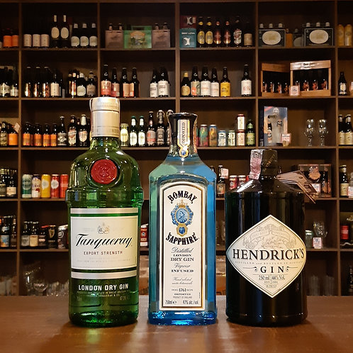 Kit com 3 Garrafas de Gin