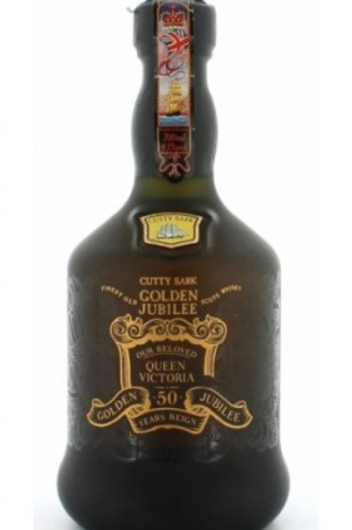 Whisky Cutty Sark Golden Jubilee Decanter 50 anos