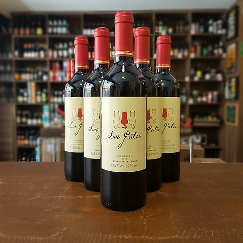 Vinho Los Gatos Carménère ou Pinot Noir - A partir de R$ 23,99