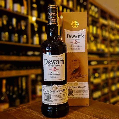 Whisky Scotch Dewar's 12 Anos 750ml