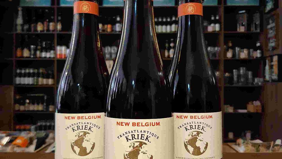 Cerveja New Belgium Transatlantique Kriek 375ml