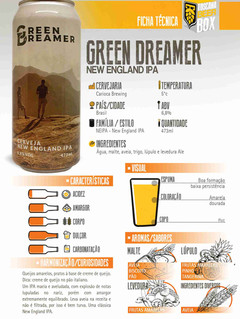 Carioca Green Dreamer