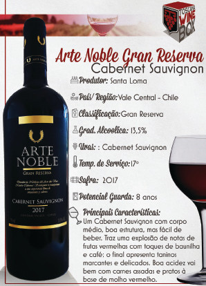 Arte Noble Gran Reserva Cabernet Sauvigon