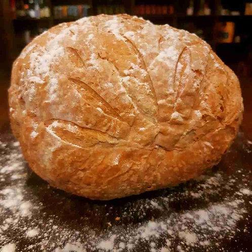 Pão Italiano Redondo de Fermentação Natural - 1 unidade (aproximadamente 300g)