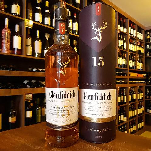 Whisky Scotch Glenfiddich 15 anos Single Malt 750ml
